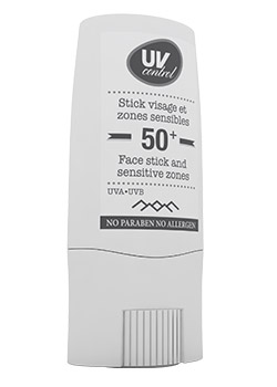 Stick large visage et zones sensibles SPF50+ très haute protection